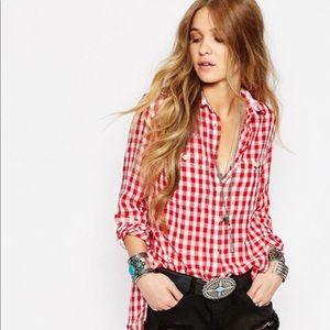 Denim and Supply Ralph Lauren Gingham Shirt XS